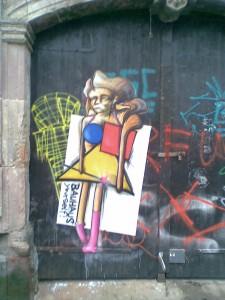 Grafitti in Weimar, Foto: Jonny Thimm
